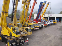 Surface de vente IMC International Mobile Cranes GmbH
