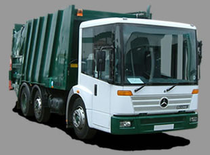 Surface de vente Refuse Trucks