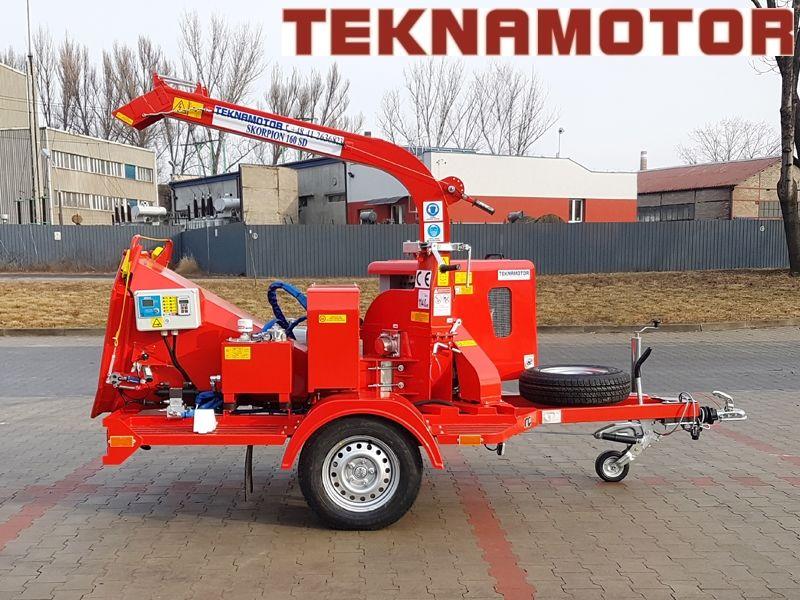 TEKNAMOTOR Skorpion 160SD broyeur de branches neuf