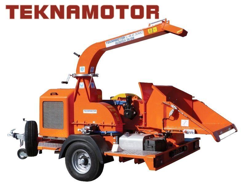 TEKNAMOTOR Skorpion 350 SDB broyeur de branches neuf