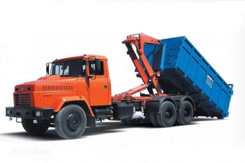 KRAZ 65053 MPR-1  camion ampliroll