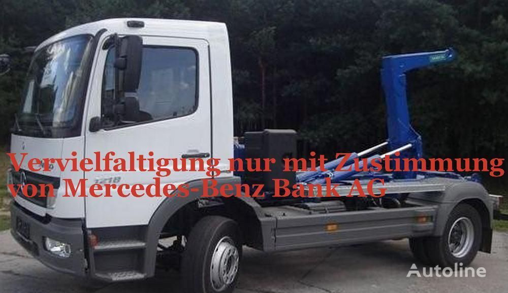 MERCEDES-BENZ Atego 1218  camion ampliroll