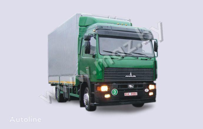 MAZ 5340A8 camion bâchée