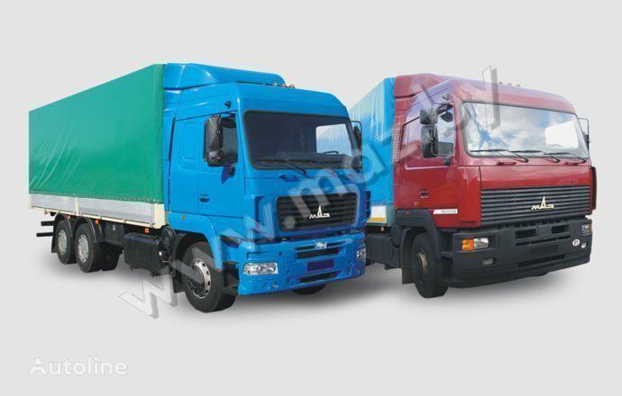 MAZ 6312 (A5, A8, A9) camion bâchée
