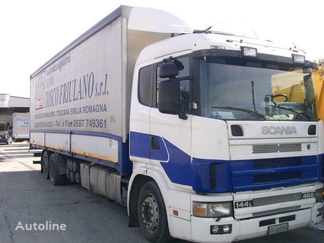 SCANIA 144L460 camion bâchée