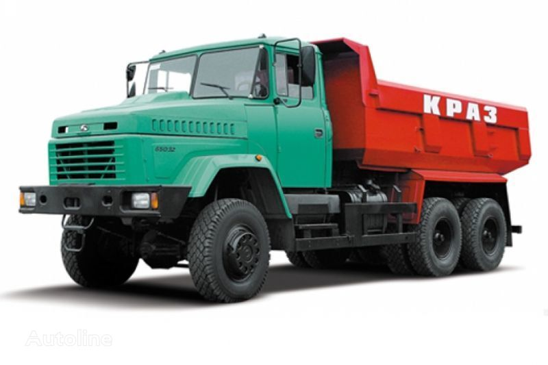 KRAZ 65032 tip 1 camion benne