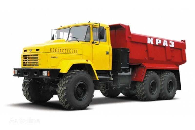 KRAZ 65032 tip 3  camion benne