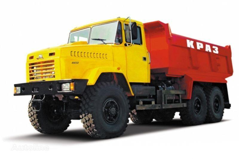 KRAZ 65032 tip 4  camion benne