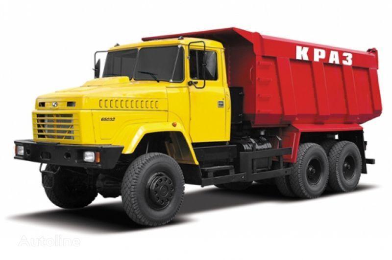 KRAZ 65032 tip 5  camion benne