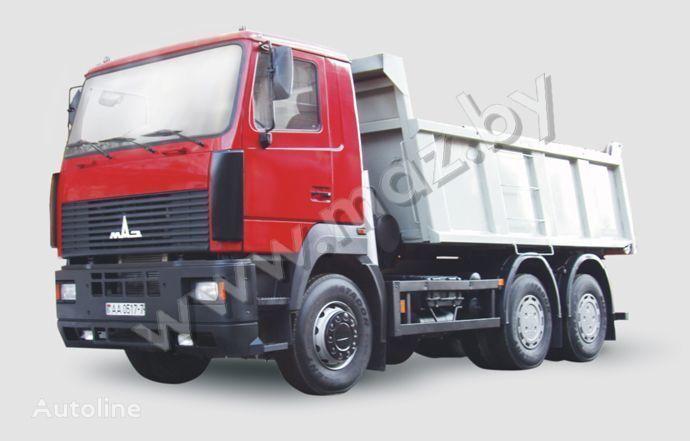 MAZ 6501 avtopoezd camion benne