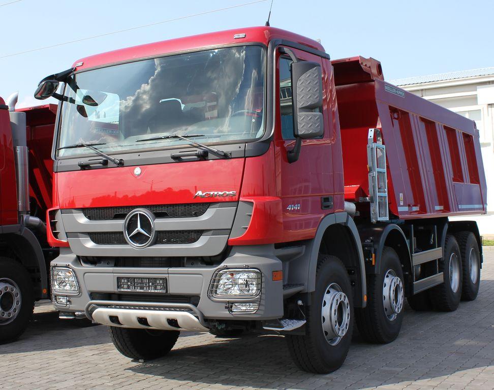 MERCEDES-BENZ Actros 4141 K camion benne neuf