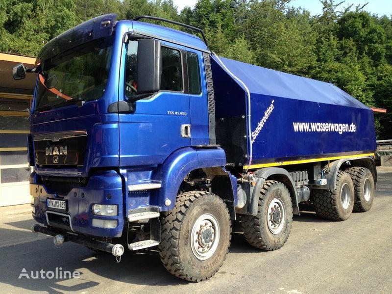 MAN TGS 41.480  camion citerne