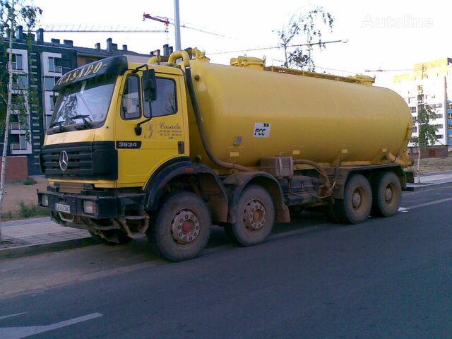 MERCEDES-BENZ 3534 K camion citerne
