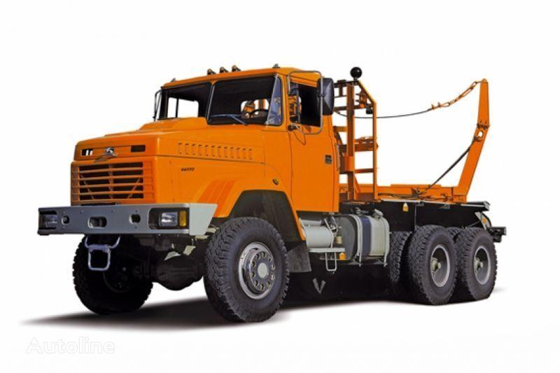 KRAZ 64372 tip 2  camion forestier