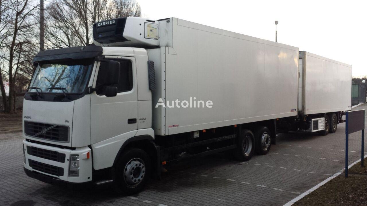 VOLVO FH440 Chłodnia + Przyczepa Tandem 2 x winda ! 12.2008 36EP Euro5 camion frigorifique + remorque frigorifique