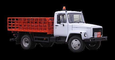 GAZ KT-602-01 camion plateau ridelles neuf