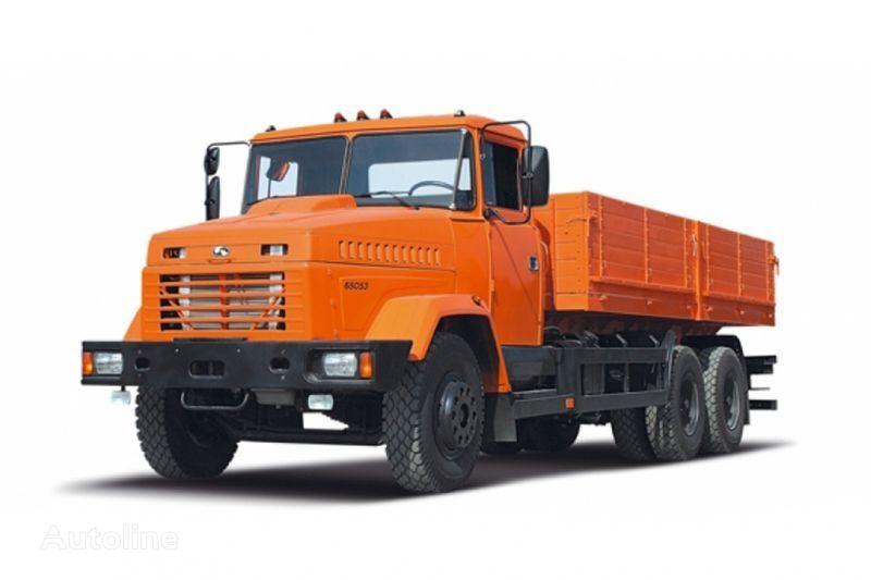 KRAZ 65053 camion plateau ridelles