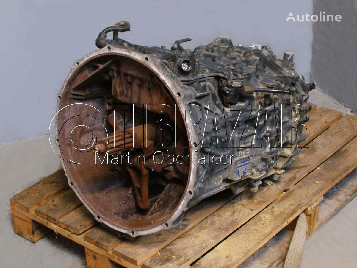 MAN ZF 12 ASTRONIC camion plateau ridelles