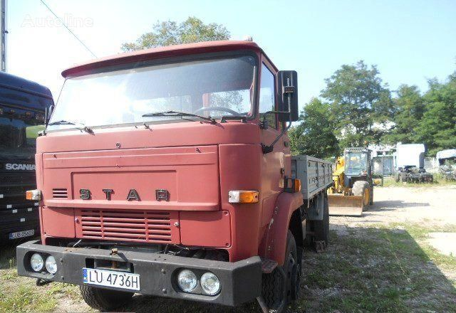 STAR 1142 truck lorry pritsche camion plateau ridelles