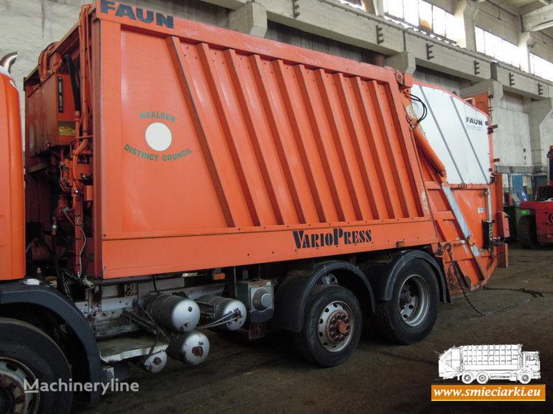 FAUN carrosserie de camion poubelle