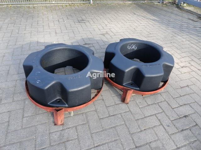 CASE IH Hinterradgewichte CNH 454 kg contrepoids neuf