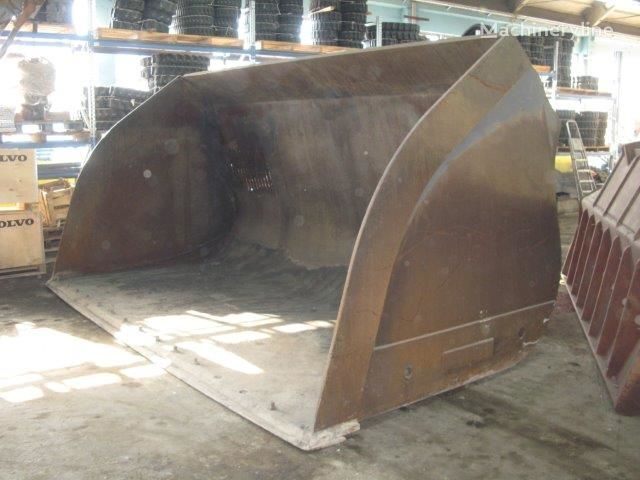 Light material bucket for coal godet frontal