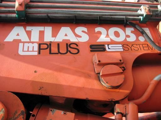 ATLAS-205.1 (Geramaniya) grue auxiliaire
