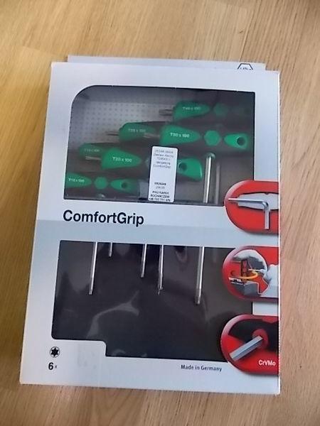 Zestaw kluczy TORX z rękojeścią ComfortGrip. outil de réparation automobile