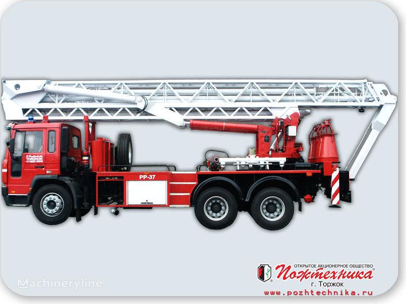 VOLVO PPP-37 Penopodemnik pozharnyy auto-échelle