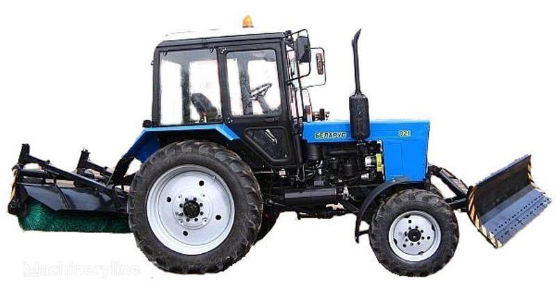 MTZ BAM-2 (otval+shchetka)na traktorah MTZ autre machine communale