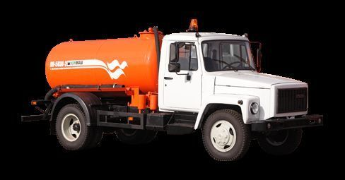 GAZ Vakuumnaya mashina KO-503V-2 camion aspirateur