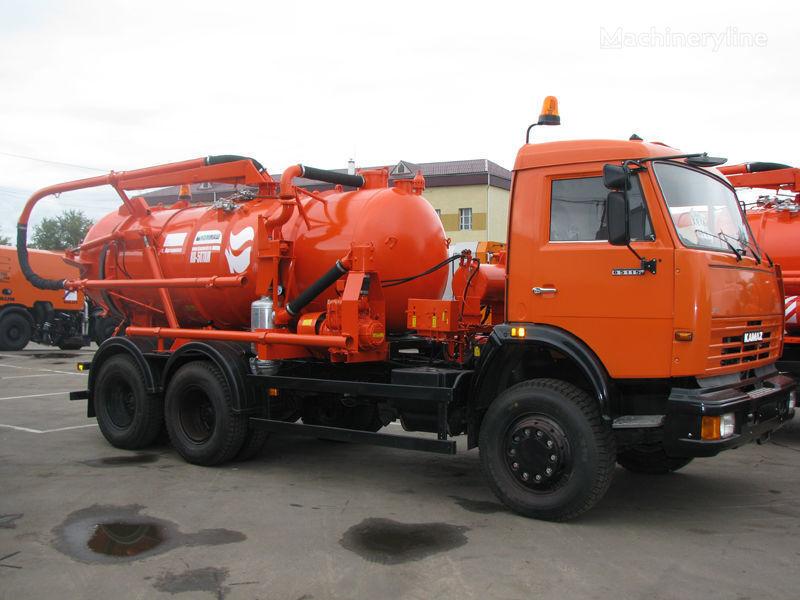 KAMAZ Ilososnaya mashina KO-507A-3 camion aspirateur