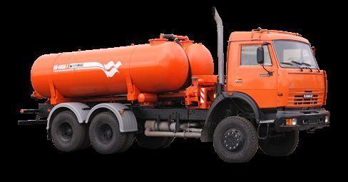 KAMAZ Vakuumnaya mashina KO-505A-1 camion aspirateur