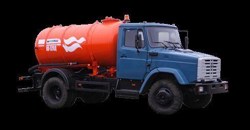 ZIL Vakuumnaya mashina KO-520 camion aspirateur