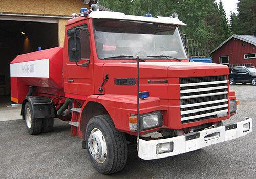 SCANIA T-112H camion-citerne d'incendie