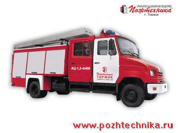 ZIL  AC-1,3-4/400 camion-citerne d'incendie