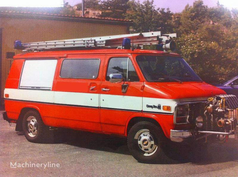 Chevrolet Van G-30 camion de pompier