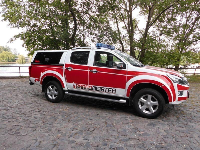 ISUZU D-MAX Löschfahrzeug, Einsatzleitfahrzeug, Vorausfahrzeug camion de pompier