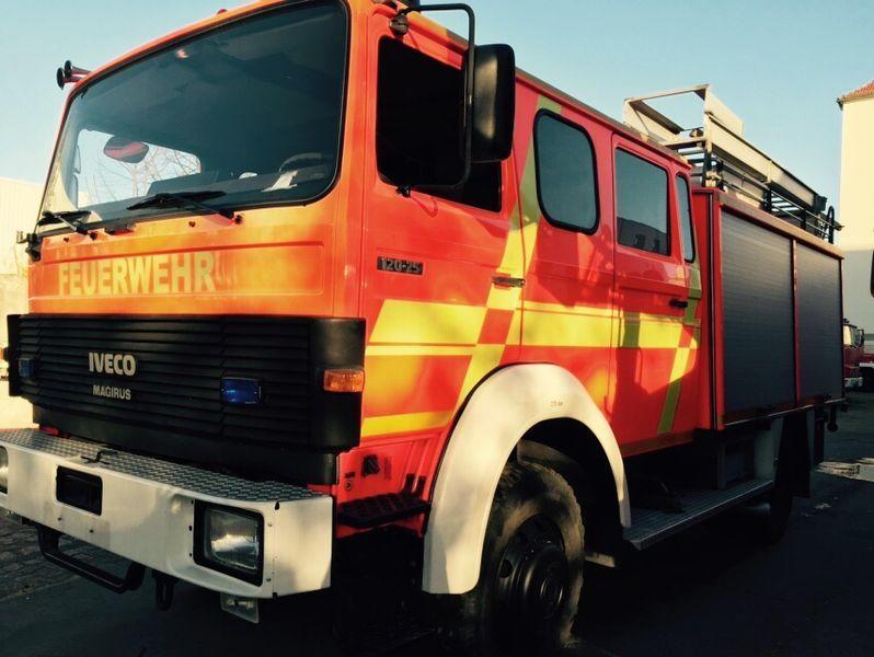IVECO HLF Typ 120-25 4x4 camion de pompier