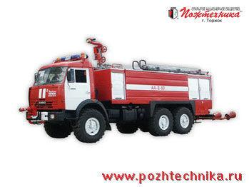 KAMAZ AA-8/60    camion de pompier