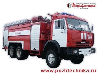 KAMAZ APT-9-40 Avtomobil pennogo tusheniya pozharnyy     camion de pompier