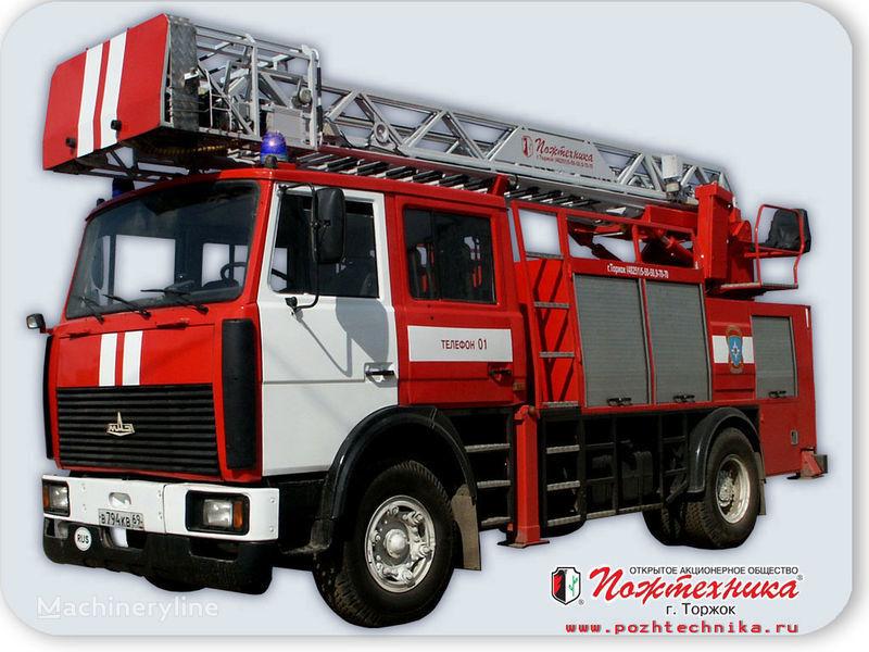 MAZ APS(L)-1,25-0,8 Avtomobil pozharno-spasatelnyy s lestnicey camion de pompier