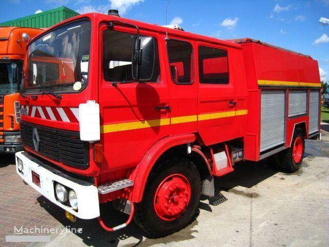 RENAULT G-191 11 PLACE WATER PUMP camion de pompier