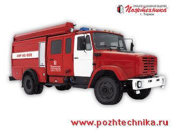 ZIL ANR-60-800 Avtomobil nasosno-rukavnyy  camion de pompier