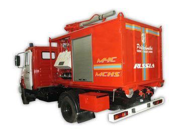 ZIL PSK Pozharno-spasatelnyy kompleks s konteynerami tyazhelogo tipa camion de pompier