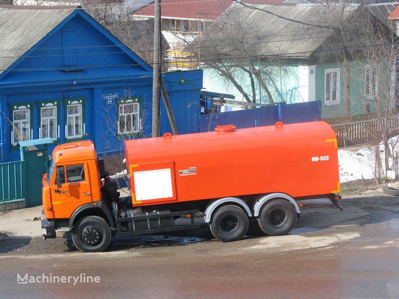 KAMAZ Kanalopromyvochnaya mashina KO-512 camion hydrocureur