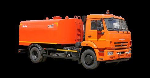 KAMAZ Kanalopromyvochnaya mashina KO-514 camion hydrocureur