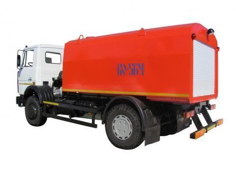 MAZ KO-564-30  camion hydrocureur