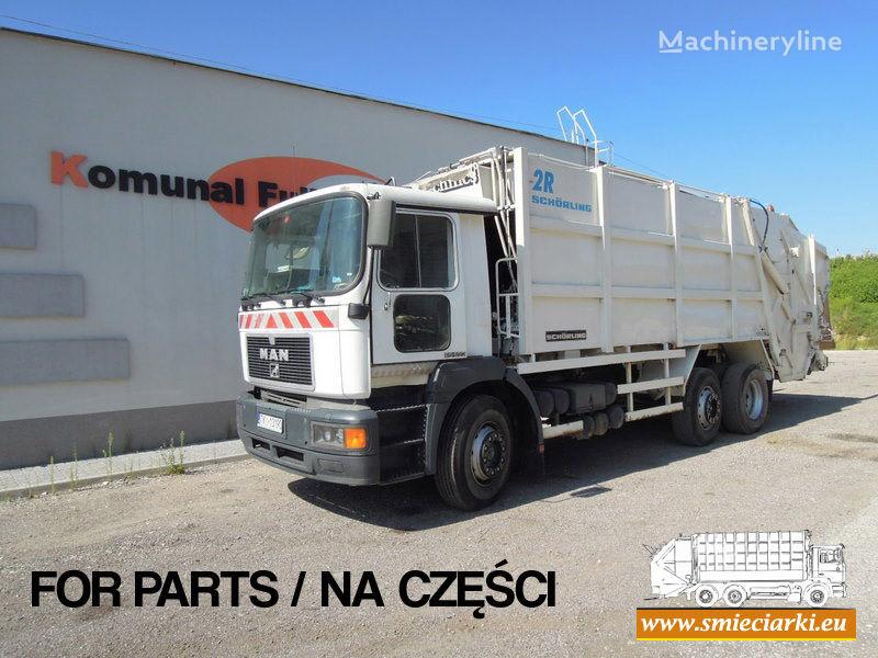 MAN 26-293 camion poubelle