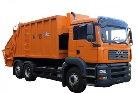 MAN KO-427-46  camion poubelle